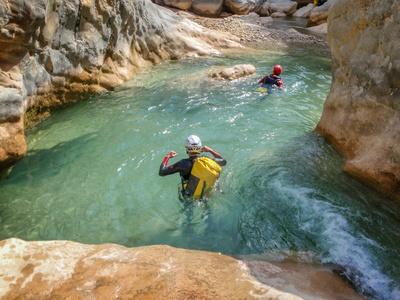 Stage Canyoning du 14 au 21 avril 2018 en Sierra de Guara (Espagne)